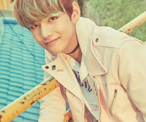 v, bts, and kim taehyung image