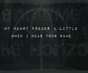 bring me the horizon, Lyrics, and music image
