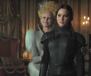 hunger games, katniss everdeen, and effie trinket image