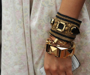 arm candy, watches, and bangles image