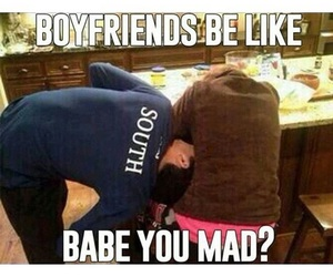 mad, boyfriend, and funny image