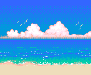 Image result for pixelated beaches