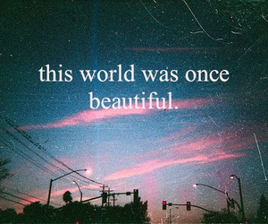 world, beautiful, and quotes image