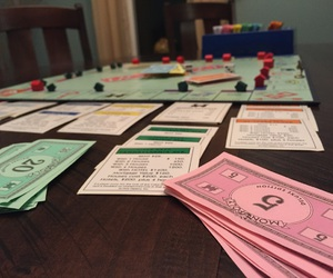game, keyboarding, and monopoly image
