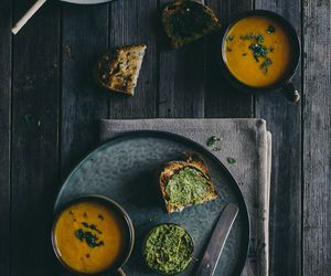 carrot, soup, and vegetables image
