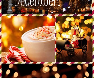 christmas, piccollage, and december image