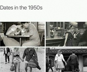 date, fashion, and vintage image