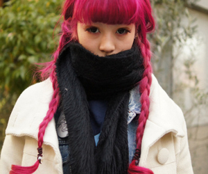 colored hair, fashion, and girl image