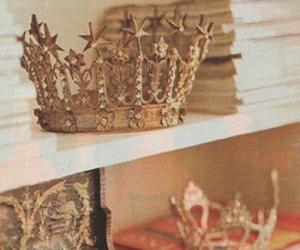 crown, princess, and book image