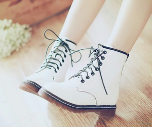 boots, shoes, and white image