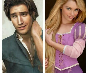 costume, couple, and rapunzel image