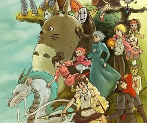 anime, studio ghibli, and spirited away image