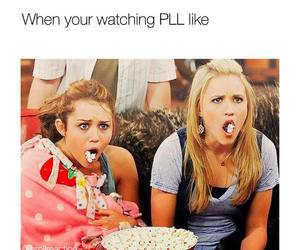 like, more, and pretty little liars image
