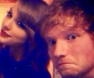 ed sheeran and Taylor Swift image