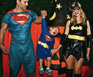 costume, family, and Halloween image
