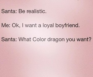 santa, christmas, and boyfriend image