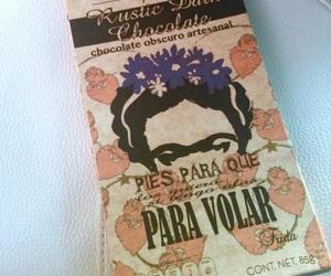 chocolate, frida kahlo, and mexican image