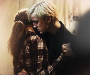 dramione, harry potter, and hermione granger image