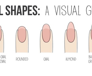 nails and shapes image