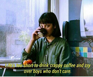 quotes, boy, and coffee image