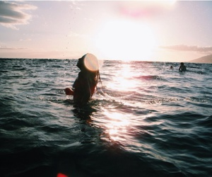 adventure, beach, and bikini image