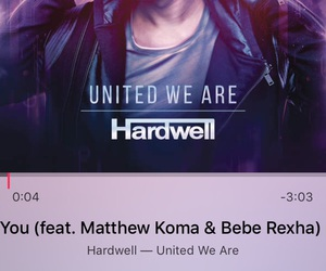 hardwell and united we are image