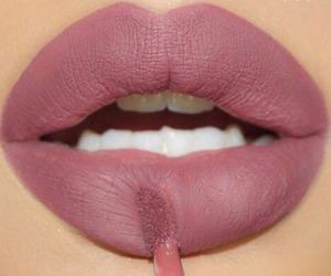 big lips, fashion, and 💄 image