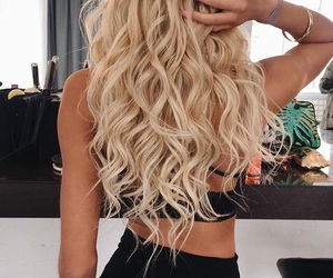 beauty, goals, and blonde image