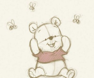drawing, disney, and winnie the pooh image