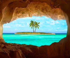 beach, summer, and wonderlust image