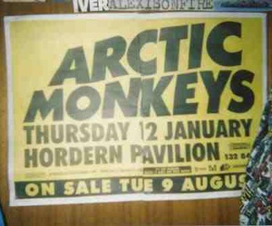 arctic monkeys, indie, and disposable image