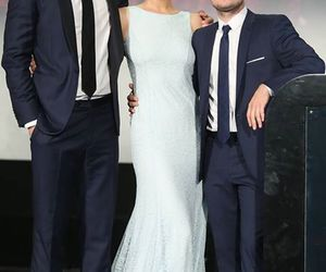 actors, josh hutcherson, and liam hemsworth image