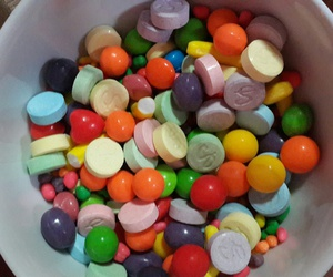 candy, colours, and Rico image