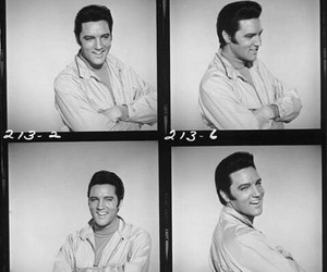 50s, Collage, and Elvis Presley image