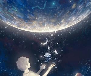 anime, stars, and boy image