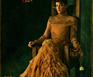 catching fire, hunger games, and johanna image