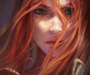 art, girl, and Katarina image