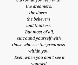 quote, believe, and Dream image