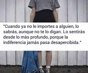 frases, indiferencia, and español image