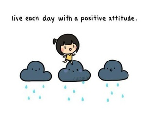 positive, cute, and quote image