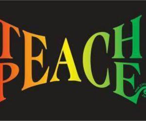 peace and teach image