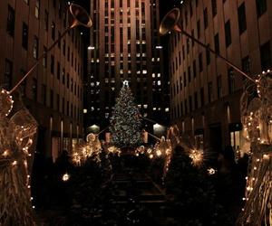 christmas and dark image