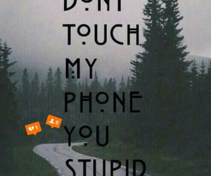 wallpaper, phone, and idiot image