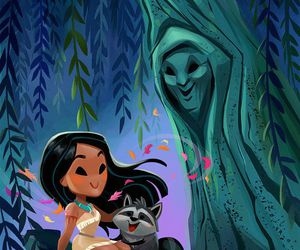 disney, pocahontas, and princess image