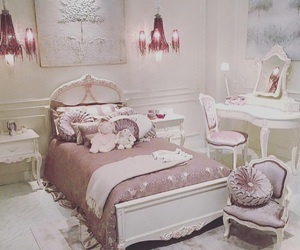 bedroom, little, and pastels image