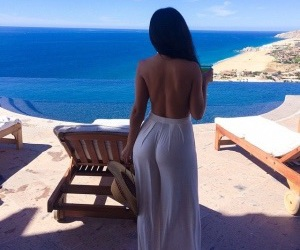 ass, beach, and gorgeous image