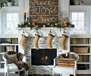 home, christmas, and home decor image