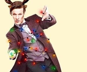 doctor who, christmas, and matt smith image