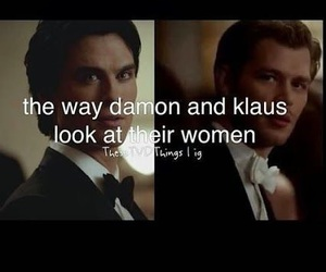 damon, klaus, and the vampire diaries image