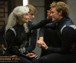 mags, hunger games, and finnick odair image